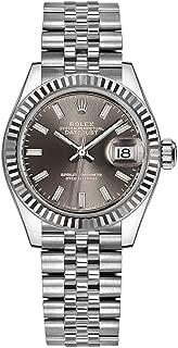 Women's Rolex Lady-Datejust 28 Gray Dial Watch on Jubilee Bracelet (Reference: 279174)