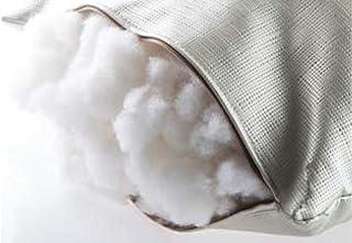 Fibra para Relleno de Cojines Microfibra 100% Poliéster, Relleno para Peluche, Almohadas, muñecas, Cojines. El Relleno Viene Envuelto en un Forro. Bolsa de 1 kg