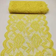 Best yellow lace fabric Reviews