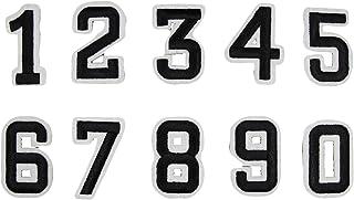 10 Piezas Parche Ropa Bordado, números Divertidos Bricolaje