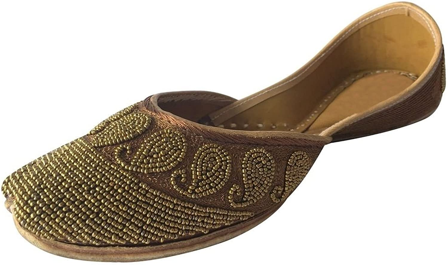 Step n Style Jutti Indian shoes Flat shoes Khussa shoes Mojari Saree Jooti Flip Flop