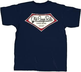 T Shirt for Men | Established Back in The Day | Navy