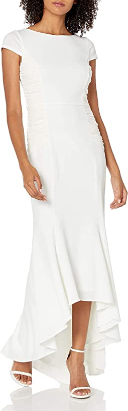 Side Ruching Gown
