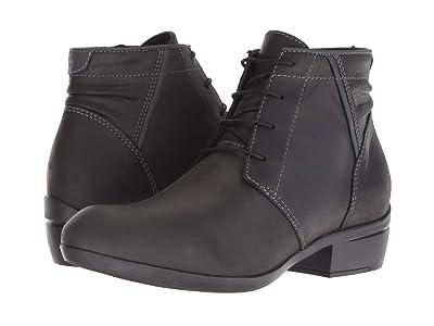 Wolky El Dorado (Black Algarve Leather) Women