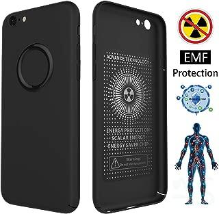 CCSJ iPhone 6 Case/iPhone 6s Case,Ultra Thin Soft Slim Fit Cover,Anti-Radiation(EMF)&Negative Ion Energy Case for Apple iPhone 6 Case/iPhone 6s Case (Matte Black)