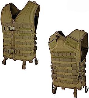 Condor MV Modular Style Vest w/ Molle - Coyote Brown