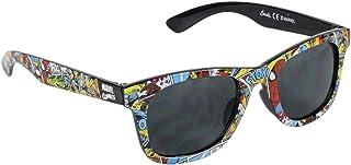 Marvel Comics - Gafas de sol para niño, héroes Avengers, color negro, talla única de 3 a 10 años