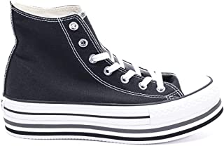 Luxury Fashion | Converse Womens 564486C034 Black Hi Top Sneakers | Fall Winter 19