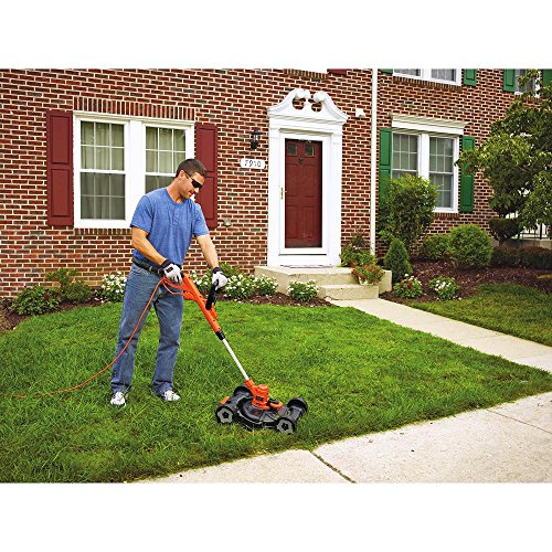 "BLACK + DECKER MTE912 12"" Electric 3-in-1 Trimmer/Edger and Mower, 6.5-Amp"