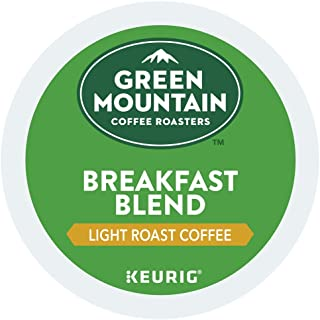 Green Mountain Coffee Roasters Single-Serve K-Cup Pods for Keurig brewers, Light Roast, Breakfast Blend (180 Count)