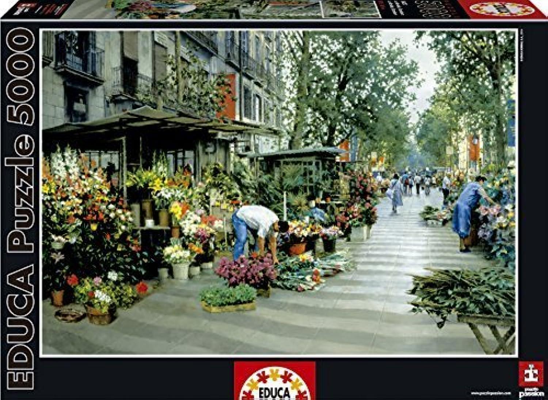 Educa Las Ramblas Barcelona Puzzle (5000 Piece), One Farbe by Educa B01A9PS86I Sonderaktionen zum Jahresende | Qualität zuerst