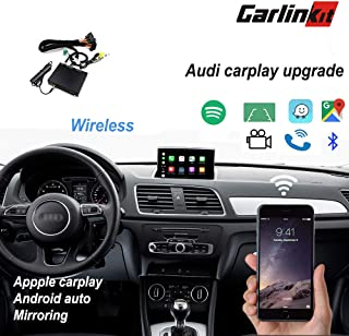 Carlinkit Wireless Carplay Receiver Box for Audi A3/A4/A5/A6/A7/Q5/ (09-18) Original Screen Stereo carplay Upgrade,Support mirroring,Reverse Track,Android auto