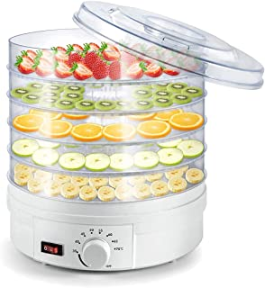 Electric Food Dehydrator Machine, Professional Multi-Tier Kitchen Food Appliances, Meat Or Beef Jerky Maker, Fruits and Ve...