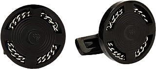 Diamond Moon Stainless Steel Cufflinks for Men, Stainless Steel - 1800541240399