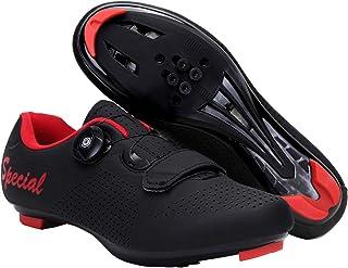 Heren Road Fietsschoenen SPD/SPD-SL Compatibel Cleat Oefening Fietsen Ademend Stabiele Comfortabele Schoenen Rider Rijden ...
