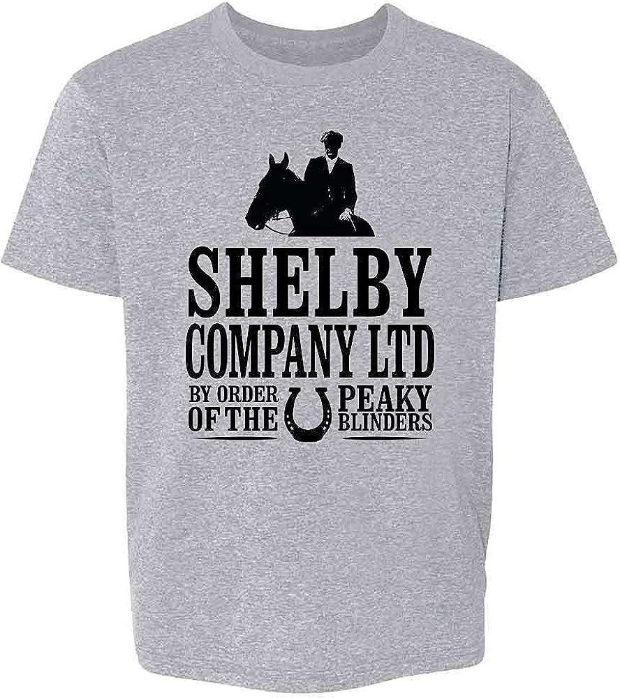 Pop Threads Peaky Blinders Merchandise Shelby Company Ltd Youth Kids Girl Boy T-Shirt