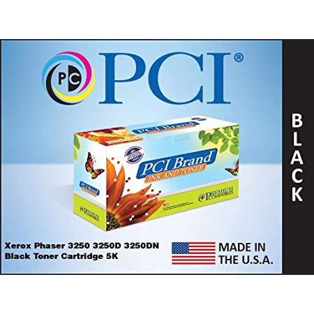 PCI Brand Compatible Toner Cartridge Replacement for Xerox Phaser 3250 3250D 3250DN Black Toner Cartridge 5K Yield