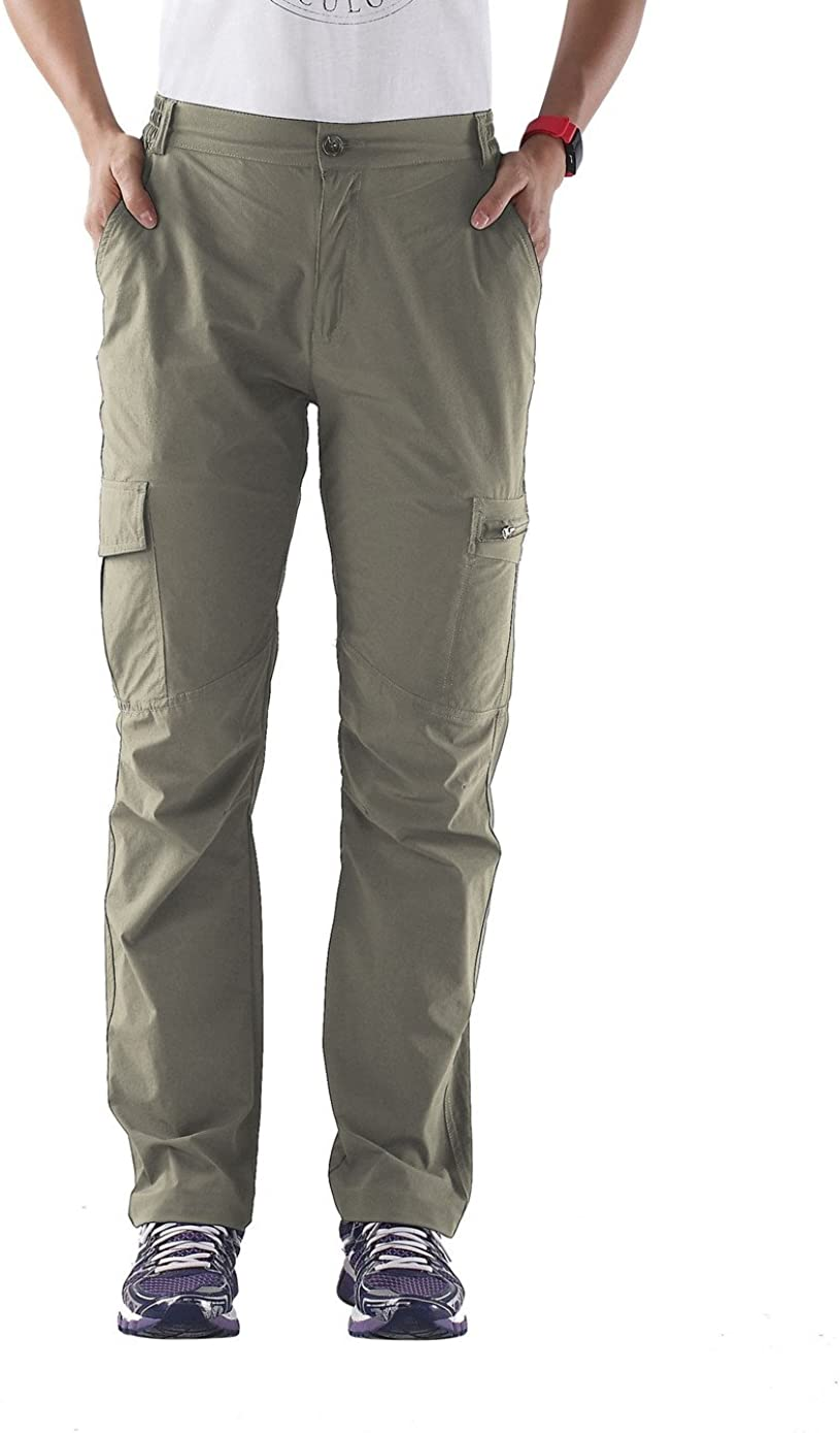 Unitop Womens Quick Dry Water Resistant Hiking Cargo Pants