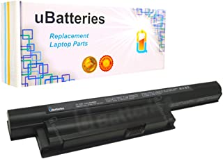 UBatteries Compatible 48Whr Battery Replacement For Sony VAIO VPCEB33FX VPCEB33GX VPCEB35FD VPCEB35FX VPCEB36GM VPCEB36GX VPCEB37FD VPCEB37FX VPCEB390S VPCEB390X VPCEB3AFD VPCEB3AFM VPCEB3AFX Series