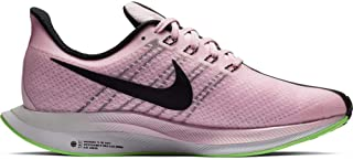 Women's Zoom Pegasus 35 Turbo Running Shoes, Pink/Lime, Size 6.5