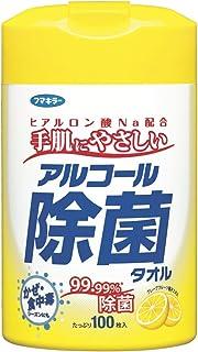 フマキラー アルコール 除菌 タオル 100枚 ウェットティッシュ