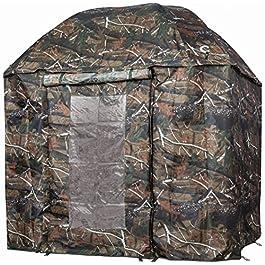 VTK Fishing – Parapluie-Tente de Pêche Camo 250 avec Porte – Shelter Oxford – Aluminium – Superior