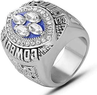 AJZYX NFL 1994 Super Bowl Replica Championship Ring Dallas Cowboys Gift Ring Collectible Souvenir Size 9-12