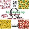 High Quality Digital Image for Professional Vol.112 Flower Sheet