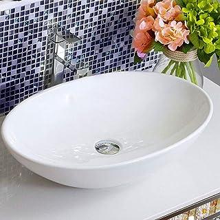 /60/x 42/cm Cer/ámica Blanco Lavabo Cuenco de Lavado Aqua Bagno KS.60/Dise/ño lavabo//Alpenberger/