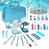 Lefree Kids Makeup Kit for Girl, Real Makeup Set, Washable Makeup Kit for Kids, Girl Gift Toys Toddler Play Makeup Set, Gift for Halloween, Christmas and Birthday