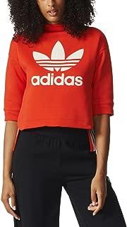 Adidas Originals 3/4 Sleeve Women's Sweatshirt Core Red bk5920