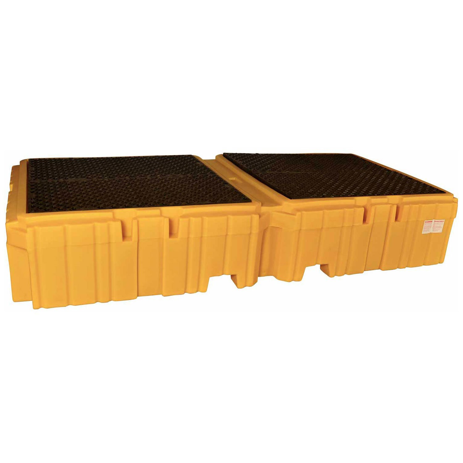 UltraTech 1144 Polyethylene Ultra-Twin IBC Spill Max 79% OFF New item Dra with Pallet