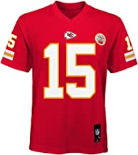 Outerstuff Patrick Mahomes Kansas City Chiefs NFL Youth 8-20 Red Home Mid-Tier Jersey