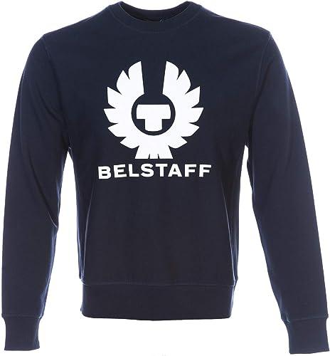 BELSTAFF Holmsbois Sweat Top in Navy