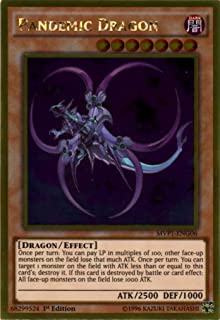 Yu-Gi-Oh! - Pandemic Dragon (MVP1-ENG06) - The Dark Side of Dimensions Movie Pack Gold Edition - 1st Edition - Gold Rare