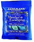 Jakemans Menthol Eucalyptus Lozenge Bag 100g (Pack of 10)