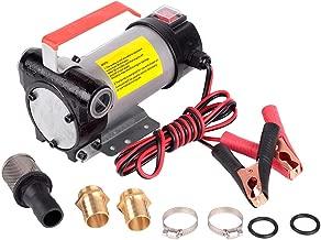 Trupow 12V DC 10GPM Electric Self-priming Diesel Kerosene Oil Fuel Transfer Extractor Pump