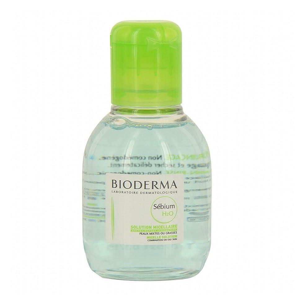 寝具触覚提唱するBioderma Sebium H2o Micellar Water 100ml [並行輸入品]