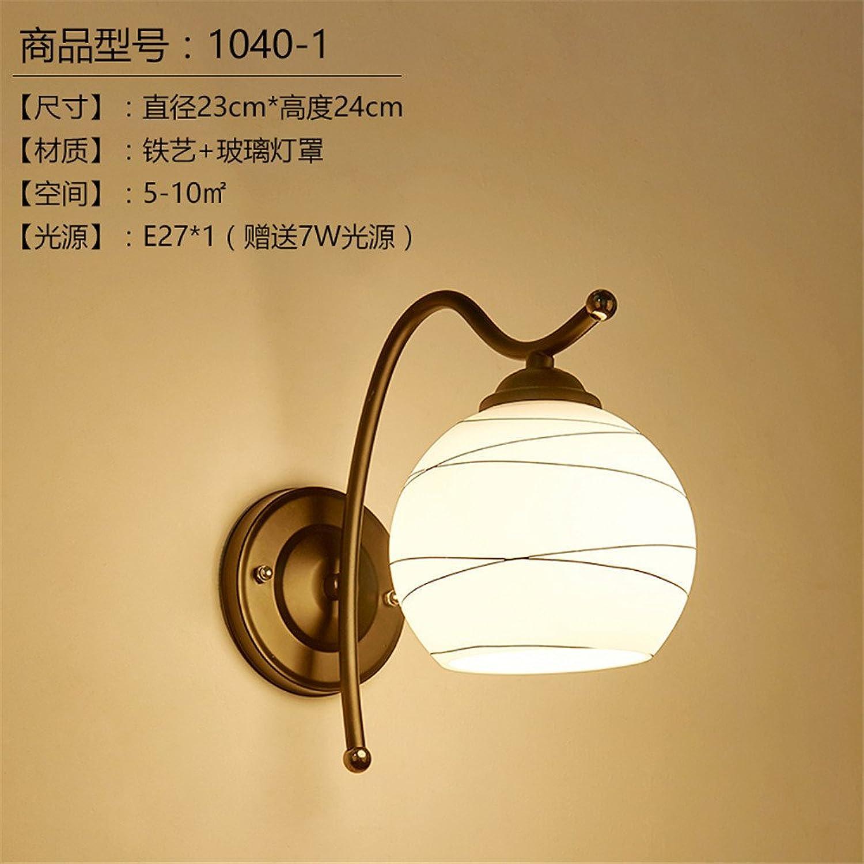 StiefelU LED Wandleuchte nach oben und unten Wandleuchten Leiter der bed Wandleuchte Schlafzimmer Ehe Zimmer Bügeleisen Lampen Wandleuchten Hotel Zimmer weg von der Strae Flur Hyun (23  24 cm)
