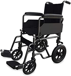 Mobiclinic, Modelo S230, Silla de ruedas para minusválidos, silla de ruedas de tránsito, plegable, ortopédica, reposapiés,...