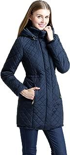 Women's Angela Waterproof Quilted Parka Coat (Regular & Plus Size)