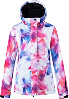 Women's Mountain Ski Jacket Waterproof Windproof Snowboard Coat Rain Jacket