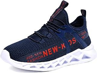 28 con cierre de velcro para el tiempo libre color transpirables TUDOU Zapatillas de deporte para ni/ños talla 39 EU unisex para ni/ños 39