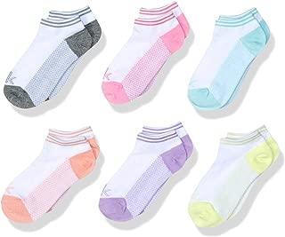 Calvin Klein Girls' Athletic Socks, 6 Pack