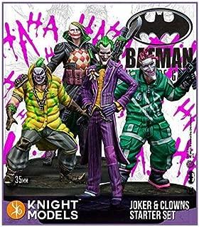 Batman Miniatures Game - Joker 35mm Joker and Clowns Starter Set (2nd Edition) (Resin)