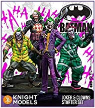 Batman Miniatures Game - Joker 35mm Joker and Clowns Starter Set (2nd Edition) (Resin)