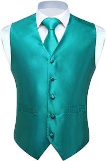 Amazon.es: Verde - Chalecos / Trajes y blazers: Ropa