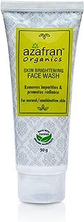Azafran Organics Skin Brightening Face Wash 50 g