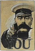 Buzz World War 1 Lord Kitchener Your Country Needs You Metal Door/Wall Plaque - 30cm