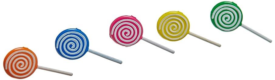 EYELET OUTLET Notions - in Network Shape Brads-Lollipop, 12-Pack